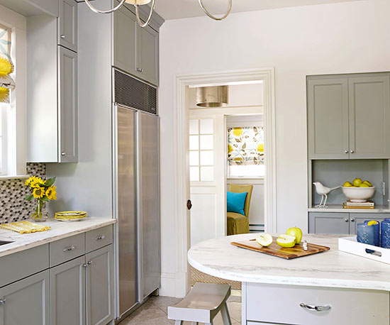 17 Ideas For Grey Kitchens That Are: Better Homes & Gardens