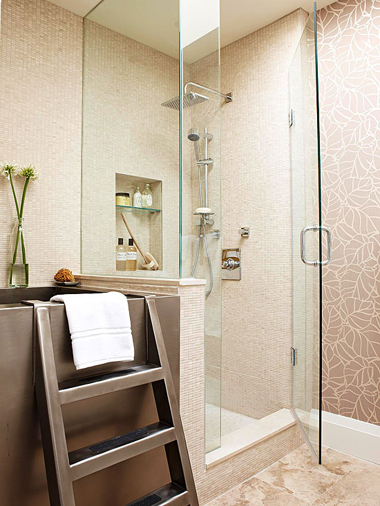 Small Bathroom Showers | Better Homes & Gardens