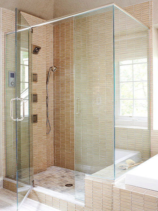 Glass Tile Walls