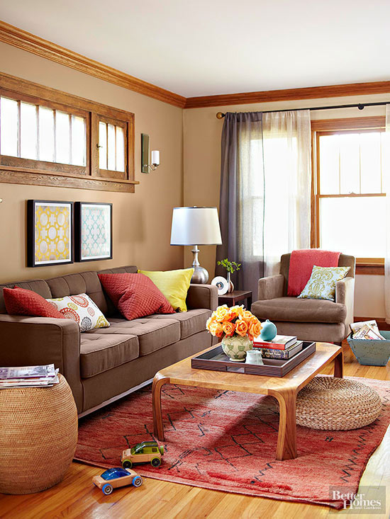 What Colors Go With Brown Better Homes Amp Gardens
