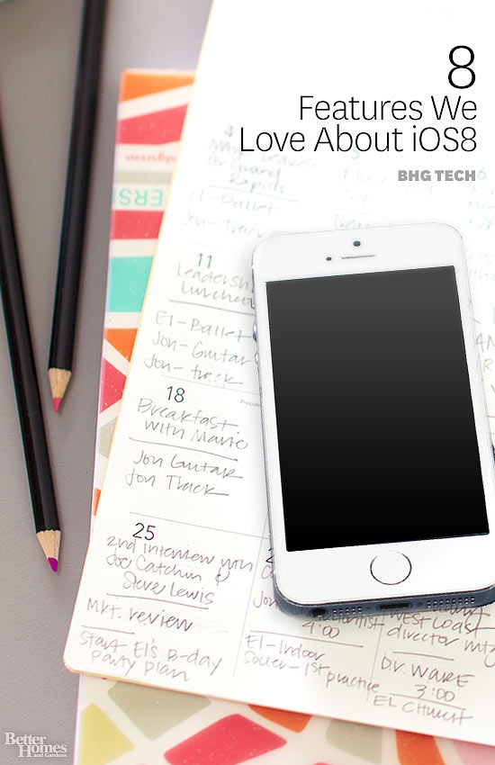 8 Features We Love About iOS8