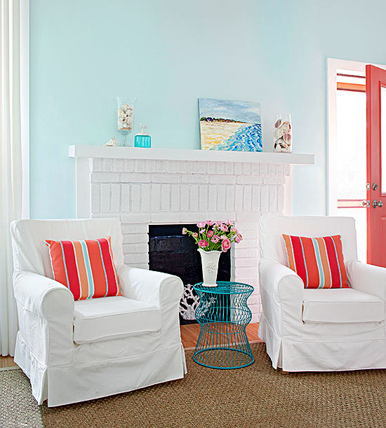 What Colors Go With Blue Better Homes Amp Gardens