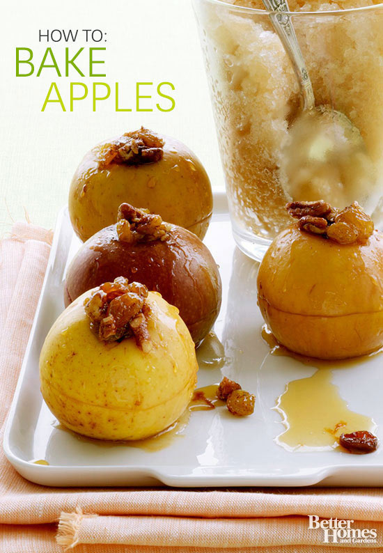 how to bake apples