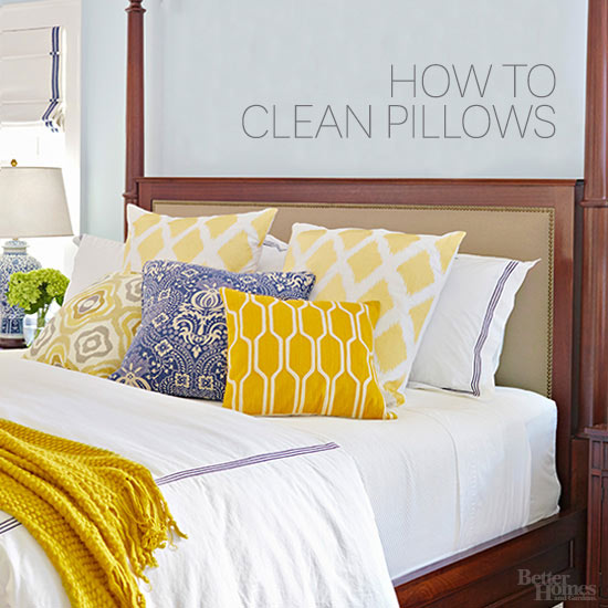 How To Clean Pillows