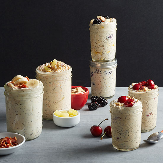 Refrigerator Oatmeal Recipes