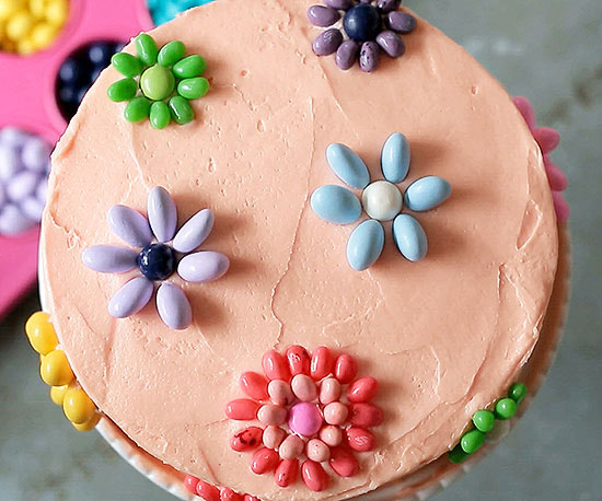 Candy Blooms cake