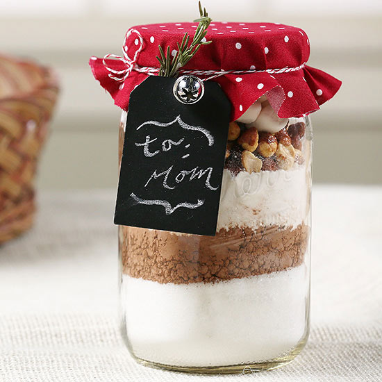 How to Make a Jar Food Gift with a Label