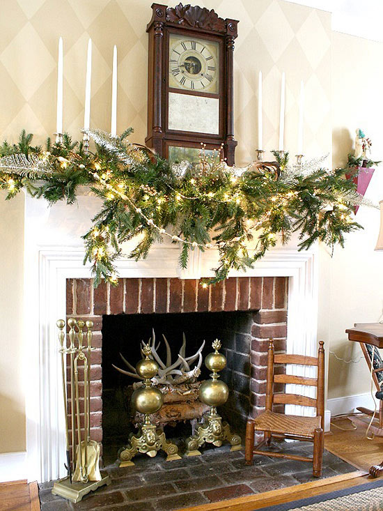 Mantel Decorating Ideas Holiday Home Tour