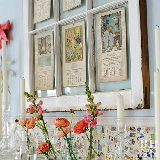 Decorating with Old Windows | Better Homes & Gardens