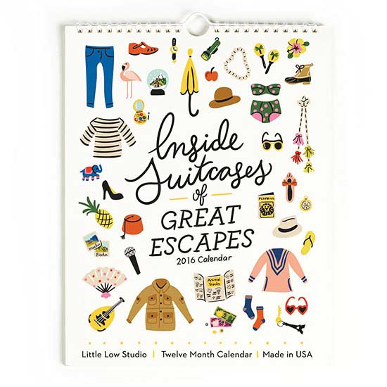 Inside Suitcases of Great Escapes
