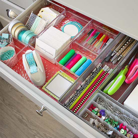 @Home - Declutter Drawers