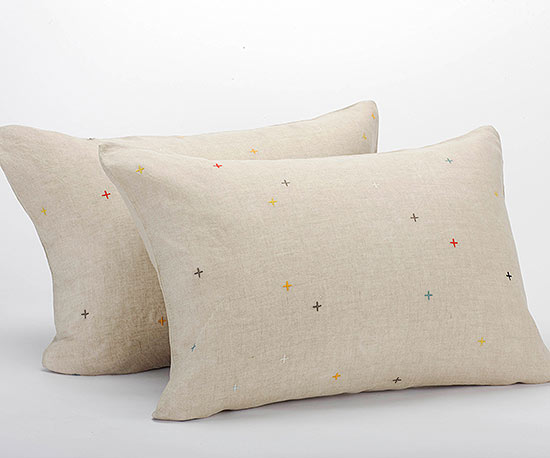 Coyuchi pillows