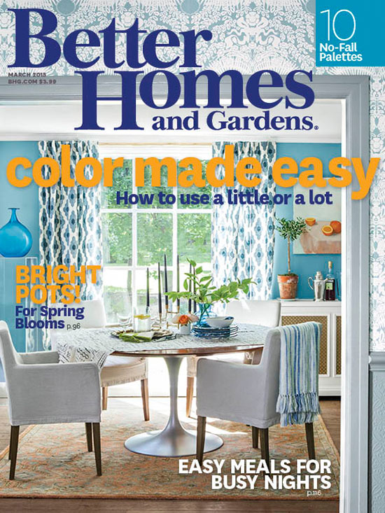 Better Homes and Gardens Color made easy cover