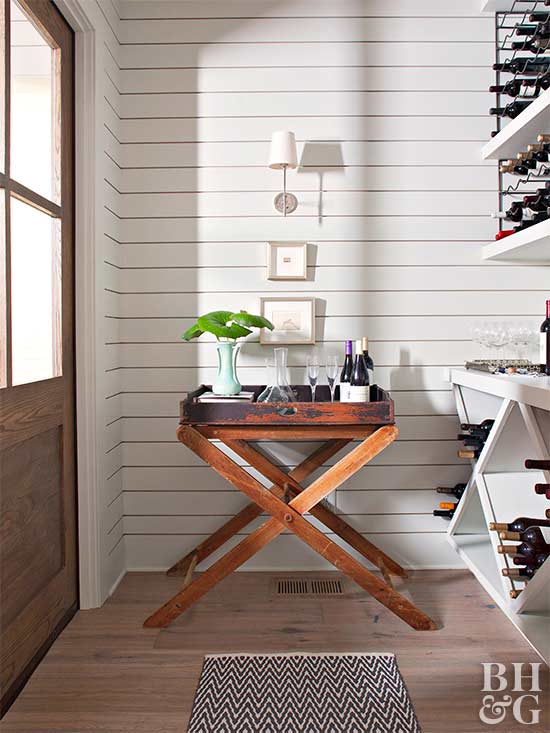 pantry wine storage