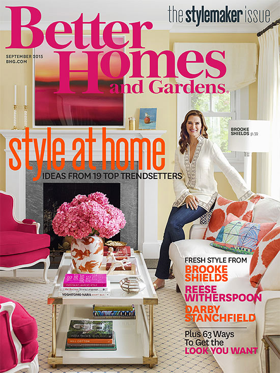 Better Homes and Gardens September 2015 cover