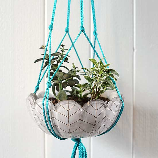 Make a Macrame Plant Hanger in Minutes