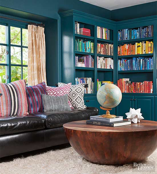 Teal Blue Paint Colors Better Homes Amp Gardens