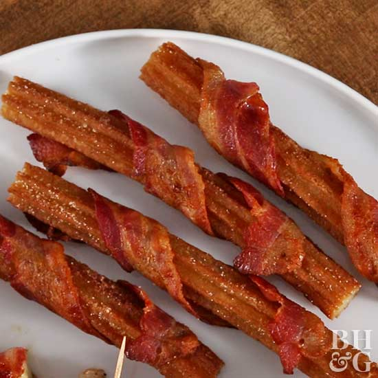 baconwrap Churro