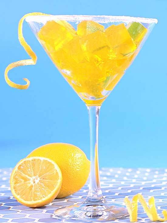 lemon jello cocktail