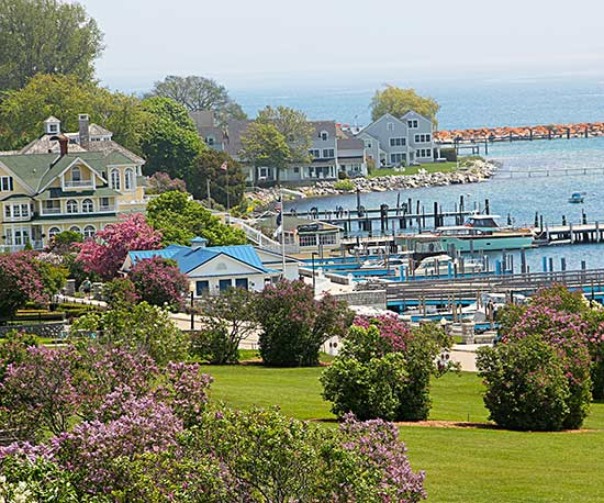 Mackinac Island, Michigan, shore
