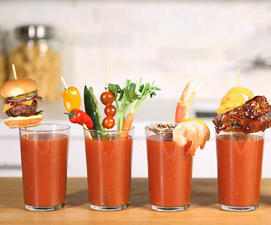 5 Jaw Dropping Bloody Mary Garnishes