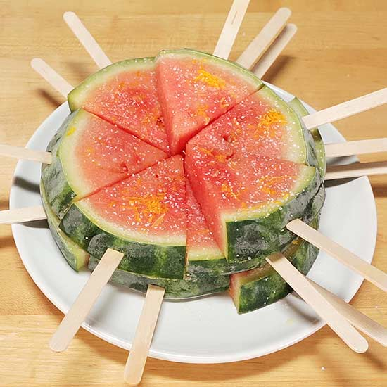 Adults-Only Watermelon Margarita Pops