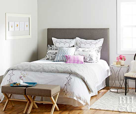 Style Foot of Bed, DIY headboard, headboard