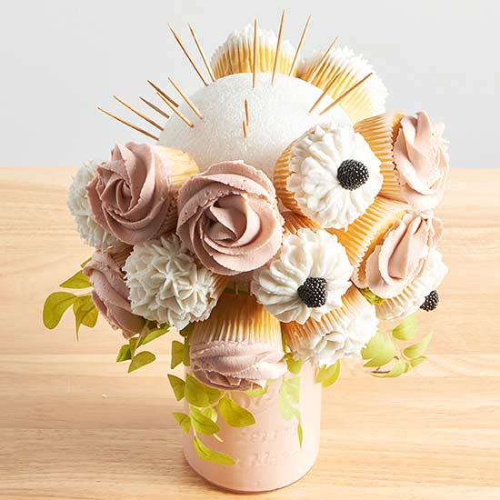 RESTRICTED IMAGE CUPCAKE BOUQUET