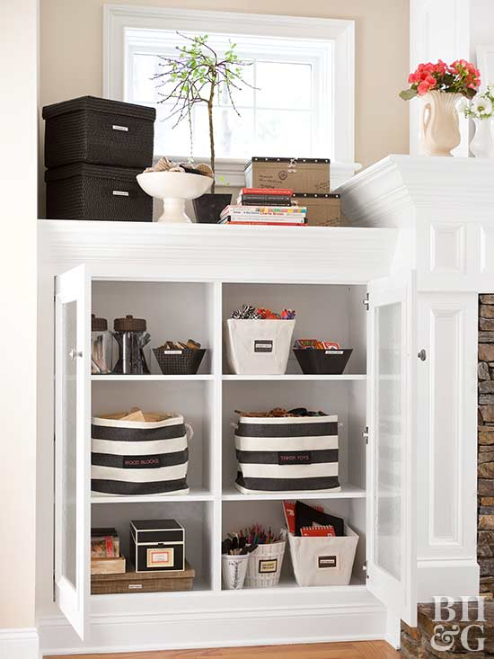 organization, storage, bins