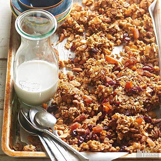 Nut-Coconut Granola