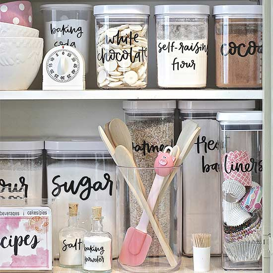 Pantry Organizing Labels