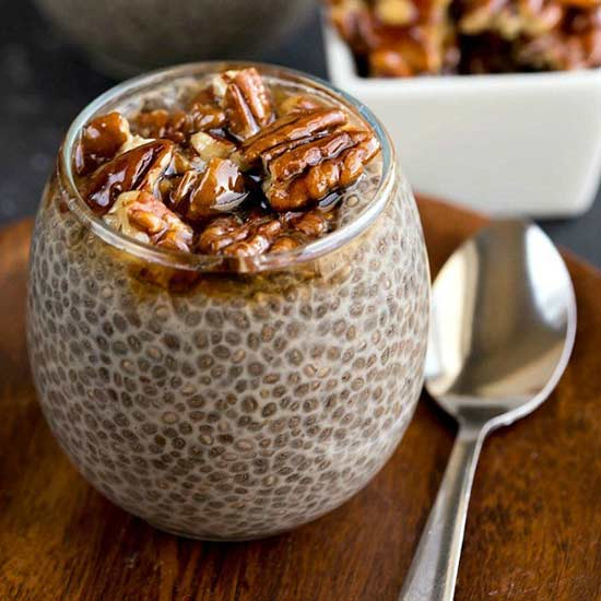 Sticky Bun Chia Pudding