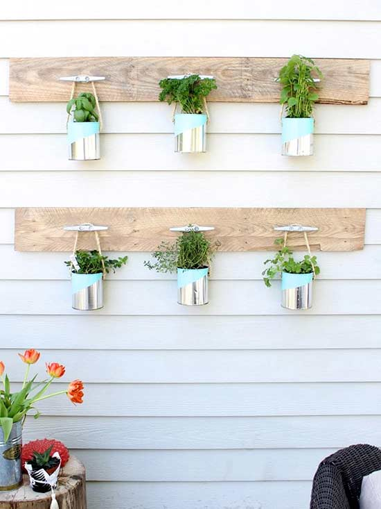 9 Diy Vertical Gardens For Better Herbs Better Homes