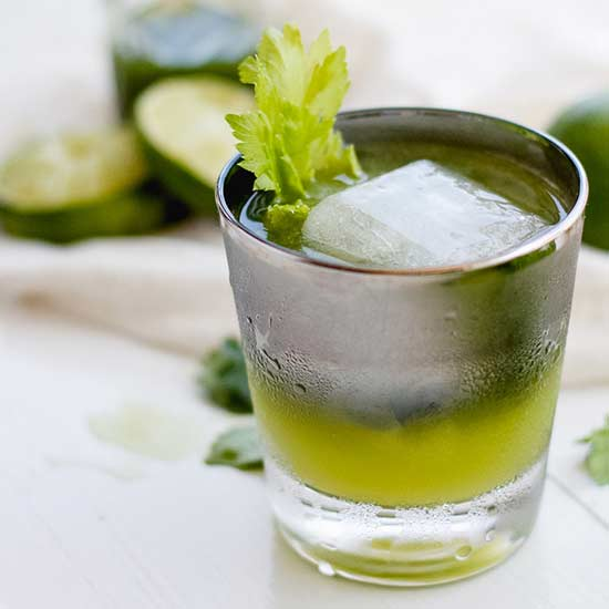 Celery and Cilantro Sipper