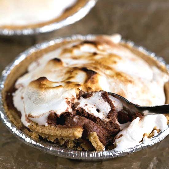 Frozen-Smores-Pie