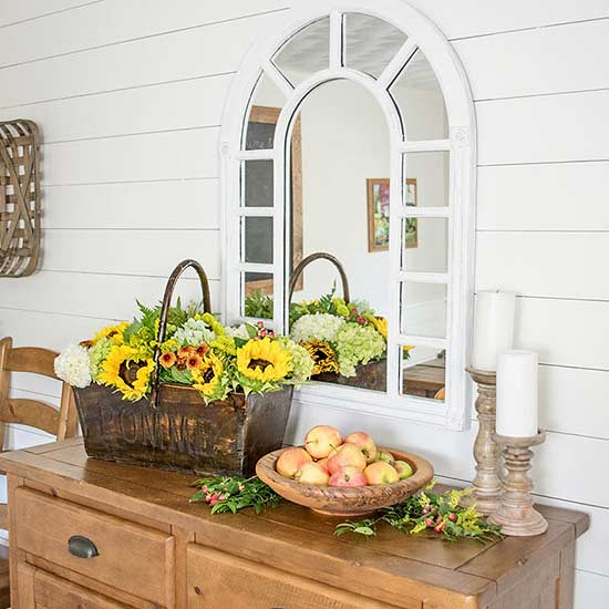 Muted Rustic Orchard Buffet
