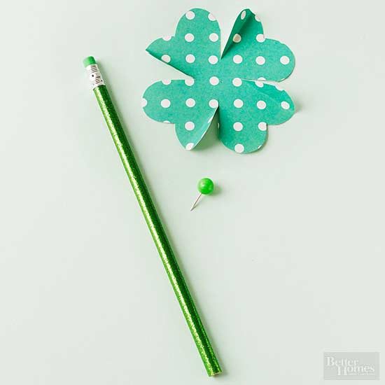 St. Patrick's day pencil