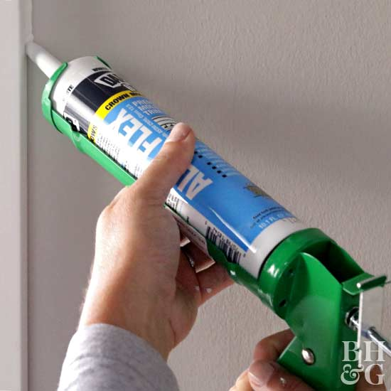 how to use a caulking gun