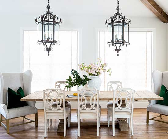 dining, dining room table lighting
