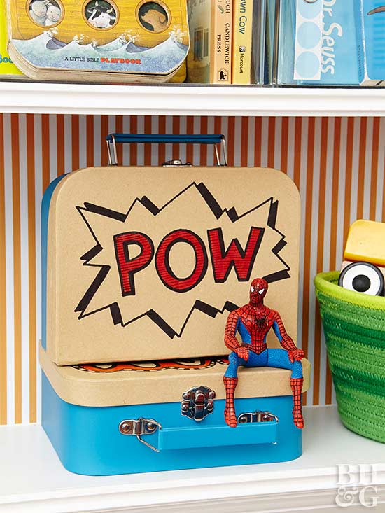 pow lunch box