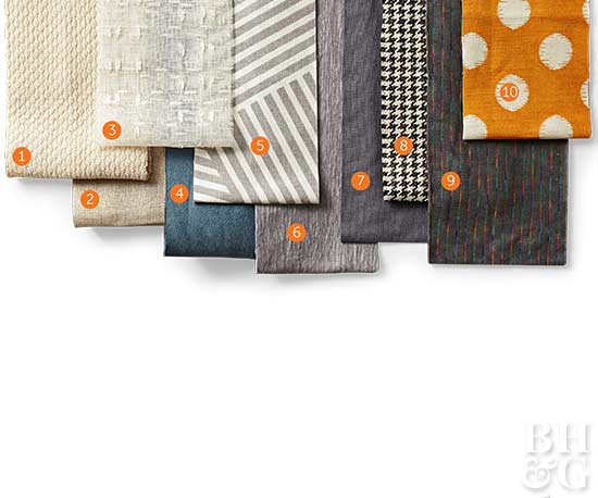 Assorted Patterned Fabrics