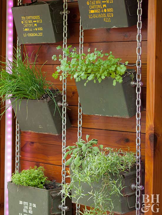 ammunition box planters