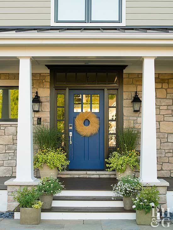 Choosing door materials interior and exterior doors better homes blue front door planetlyrics Gallery