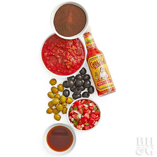 Mexican Condiments