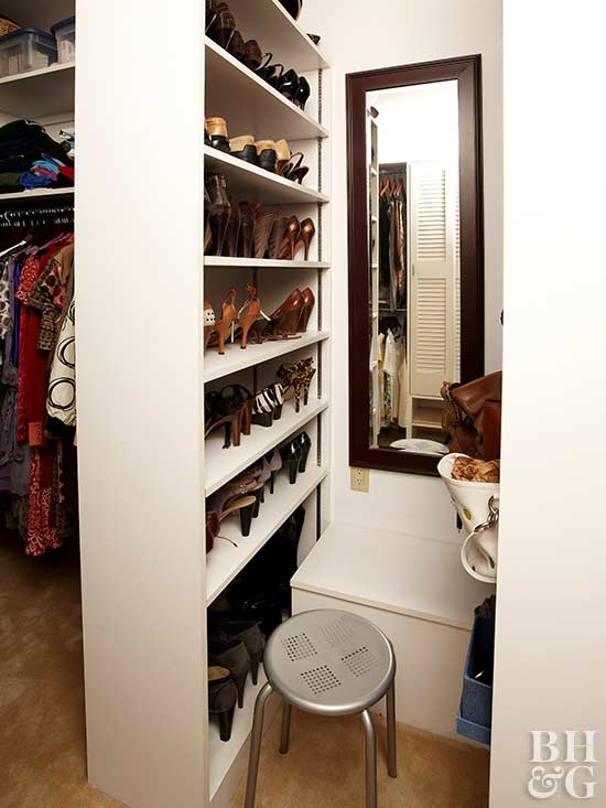 Small Walk In Closet Design Ideas Better Homes Amp Gardens