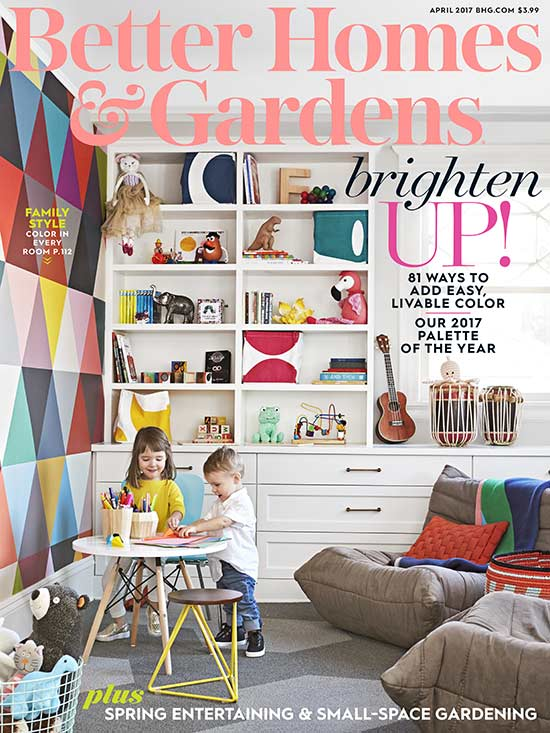 Better Homes and Gardens April Magazine