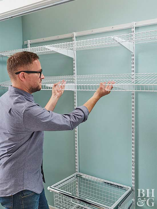 building Pantry Shelving