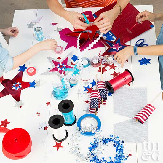 July party, 4th of July party decor