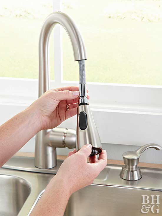 installing hands-free faucet