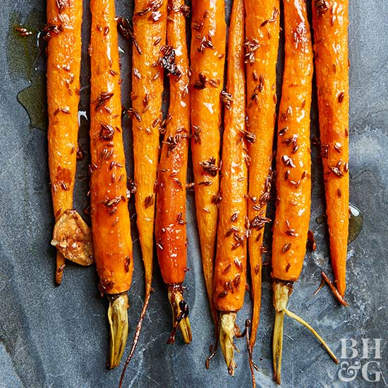 Honey-Cumin Roasted Carrots